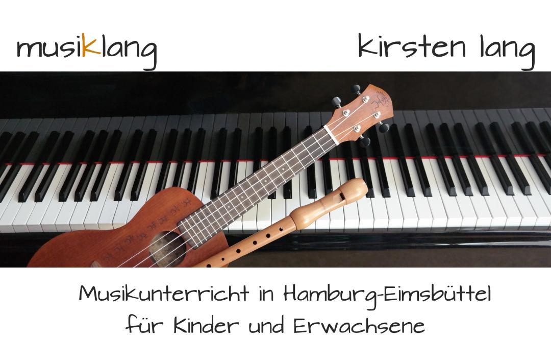Kirsten Lang - Musikunterricht in Hamburg-Eimsbüttel: Klavier, Blockflöte, Instrumentenkarussell